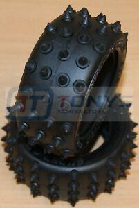Tamiya Super Shot/Avante/Vanquish, 9804446/19804446/50271 Rear Tyres/Tires, NEW