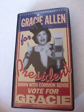NEW, GRACIE ALLEN FOR PRESIDENT, VOTE FOR GRACIE, CASE WITH 6 TAPE COLLECTION