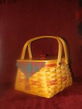 Longaberger Christmas Red Collection Hostess Combo Deck the Halls Basket 2000