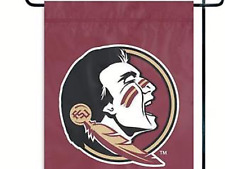 Fan Essentials FSU Florida State Seminoles Flag Nip Football Sports -12.5 x 18 ""
