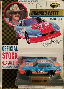RICHARD PETTY 1992 STP PONTIAC GRAND PRIX 1/64 ROAD CHAMPS NASCAR UNHUNG DIECAST
