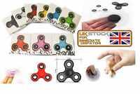 FIDGET SPINNER Hand Finger Focus EDC Steel Bearing Stress Relieve Toys Gift UK