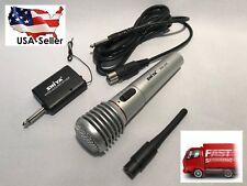 "Shiya Wireless Microphone XLR to 1/4"" Mono Cable mic set system for karaoke"
