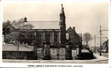 Haslingden. Memorial Gardens & Manchester Road Methodist Church.