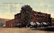 bollinger hotel lewsiton idaho L3041 Antique Postcard