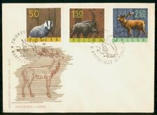 Mayfairstamps Poland FDC 1965 Wildlife Combo Moose First Day Cover wwg_02303