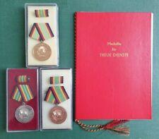 DDR Medaille & Urkunde - NVA - Treue Dienste in der Nationalen Volksarmee