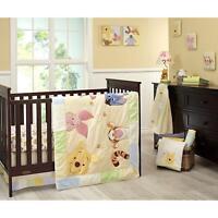 Rare New Babies R Us Exclusive Disney Winnie the Pooh Peeking Pooh Bedding Set