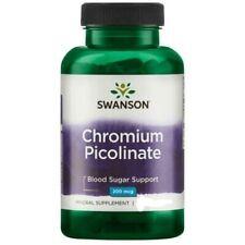 Swanson Chromium Picolinate 100 capsules 200 mcg