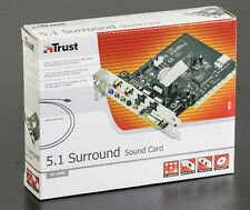 TRUST 5.1 Surround sound Card PCI OVP sealed