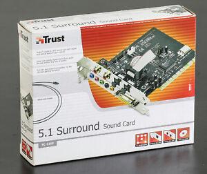 TRUST 5.1 Surround sound Card PCI OVP sealed