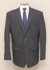 Mens 44L Michael Strahan Grey Flannel Blazer