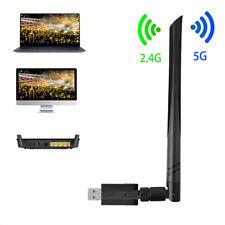 5G Antena WIFI USB Adaptador Wireless 1200 Mbps LAN WI-FI Potencia Largo Alcance