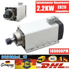 Luftgekühlte Frässpindel 2.2kw Air-Cooled Spindle Linear Motor Milling ER20 220V