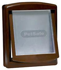 PetSafe Staywell Catflap 755 Brown Medium Pet Cat Dog Door Flap & Locking Panel