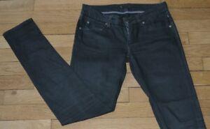 MELTIN POT Jeans pour Femme W 26 - L 32 Taille Fr 36 (Réf # X165)