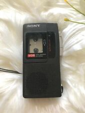 Sony Handheld MicroCassette Corder Tape Recorder M-440V One Touch Recording Vint