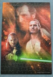 Clemontoni 250 piece jigsaw puzzle Star Wars Episode 1 Qui-Gon Jinn Liam Neeson
