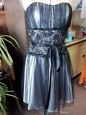 Black/silver  Short Dance Dress  S: 4
