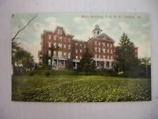 VINTAGE POSTCARD OF THE MAIN BUILDING, I. S. N. S. IN INDIANA, PENNSYLVANIA