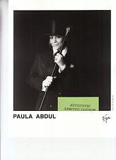 paula abdul limited edition press kit