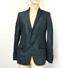 $2900 New Authentic GUCCI Mens Silk Tuxedo Jacket Blazer EU 50R/US 40R #295375