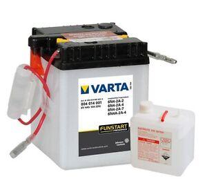 Batterie moto VARTA 6N4-2A-2 / 6N4-2A-4 6N4-2A-7 / 6N4A-2A-4