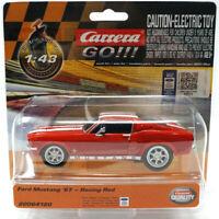 Carrera Go!!! 64120 Ford Mustang '67 - Racing Red 1/43 Slot Car