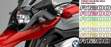 2 Adesivi Serbatoio Stickers Moto BMW R 1200 gs adventure LC ouline 200x20 mm
