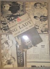 50 A5 Sheets Reclaimed Vintage Newspaper Ideal Decoupage Craft Paper