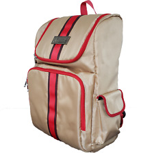 Travel Backpack for Barbers or Stylist & Students Laptops Ipads (BEIGE) VT10304