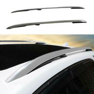 Fit For Chevrolet Equinox 2018-2021 Silver Top Roof Cargo Rack Cross Bars 2PCS