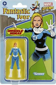 """Kenner Marvel Fantastic Four Retro 3.75"""" Figures - The Invisible Woman"""
