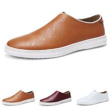 Mens Leisure Faux Leather Shoes Loafers Pumps Slip on Driving Moccasins Casual L