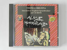 PC CD-ROM Horror in Hollywood Thomas Brezina Interaktiver Englisch Sprachtrainer
