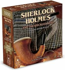 BePuzzled  SHERLOCK HOLMES And the Speckled Band - Mystery Jigswa 1000pc - New