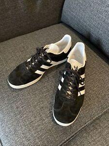 Adidas Gazelle black US13 UK12.5 - Excellent Condition