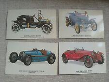 Postcards Vintage cars