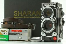 [Top Mint in BOX] SHARAN Rolleiflex 2.8f Film Camera w/ Showcase From JAPAN