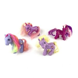 My Little Pony Lot Of 4 - Dosey Dotes, Cherry Blossoms, Twinkle Twirl, Rainbow