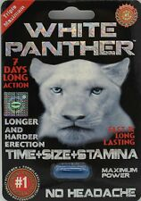White Panther Male Sexual POWER Enhancement pill