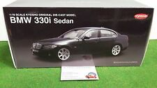 BMW 330i SEDAN bleu Navy blue 1/18 KYOSHO 08731NB voiture miniature d collection