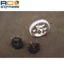 Hot Racing Kyosho 1/8 Motorcycle Aluminum Main Gear w/ Steel Sprockets HOR150SH