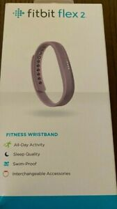 Brand New Fitbit Flex 2 Lavender Band Smart Watch / Activity & Sleep Tracker