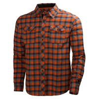 Helly Hansen 79100 - Vancouver Flannel Shirt - Dark Orange