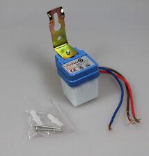 2x MINI Dämmerungsschalter 230V/6A, Dämmerungssensor Lichtsensor twilight switch