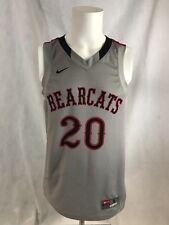 Nike Cincinnati Bearcats NCAA Basketball Gray Alternate Jersey Sz Small RARE