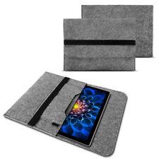 Microsoft Surface Pro 4 Tasche Hülle Grau Filz Sleeve Case Schutzhülle Cover Bag