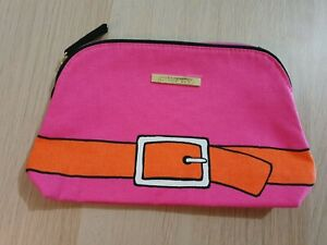 ESTEE LAUDER Pink Belt Makeup Cosmetic Bag Special Edition