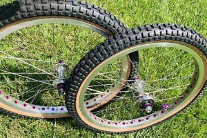 Mongoose Bmx Pro Class Wheels Fits Californian Suntour ACS Hutch Patterson READ